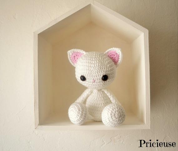 Doudou lapin patron crochet modèle tutoriel français/anglais | Etsy | 484x570