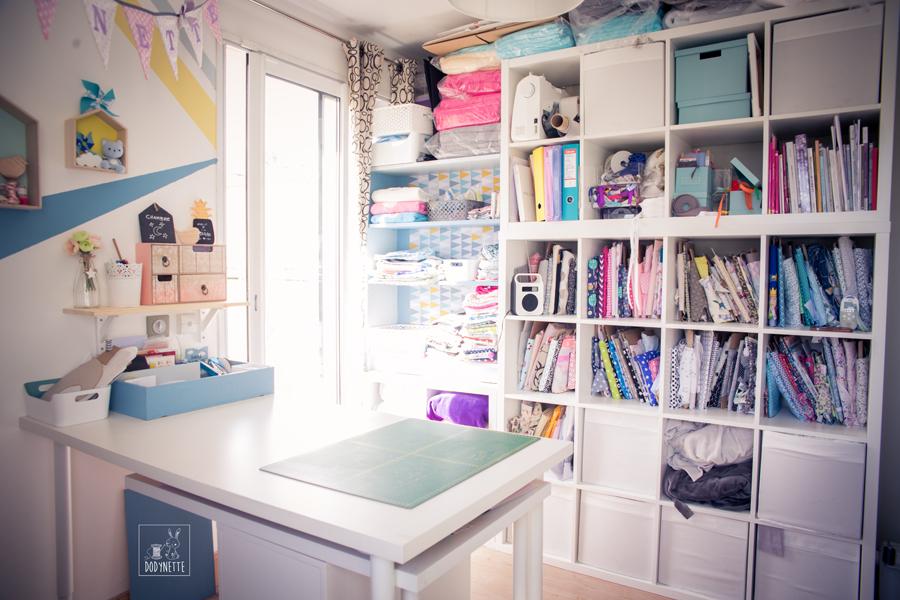 Organiser Son Atelier Couture Les Tutos Couture De Dodynette