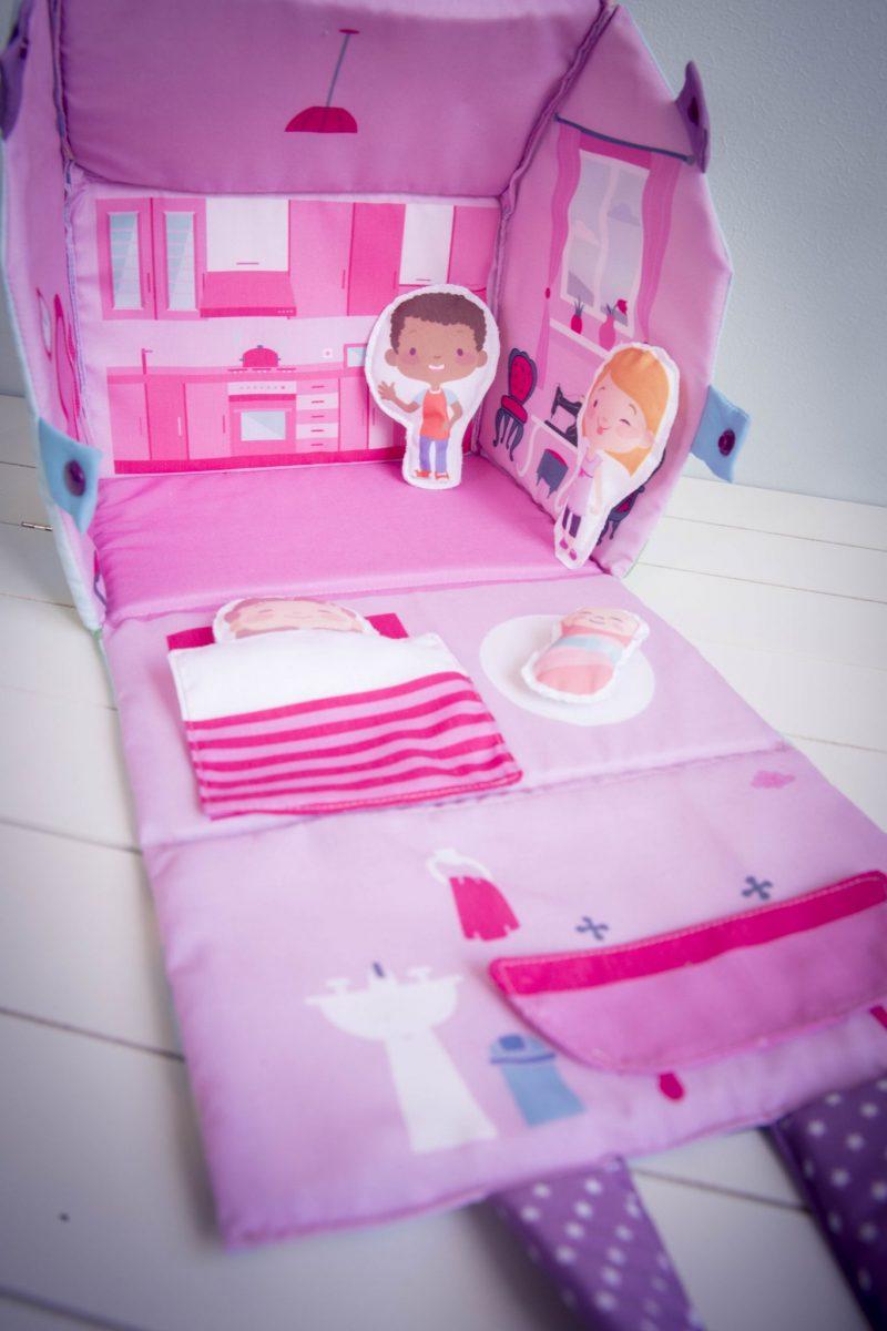 Test Projet Couture Le Kit Enfant Ma Maison En Tissu Les Tutos Couture De Dodynette