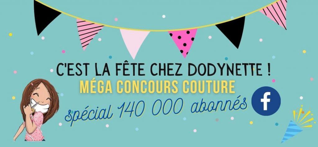 mega concours couture dodynette