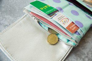 porte monnaie à coudre Elisa