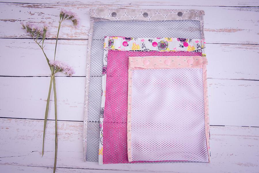 filets pochette lila zero dechet