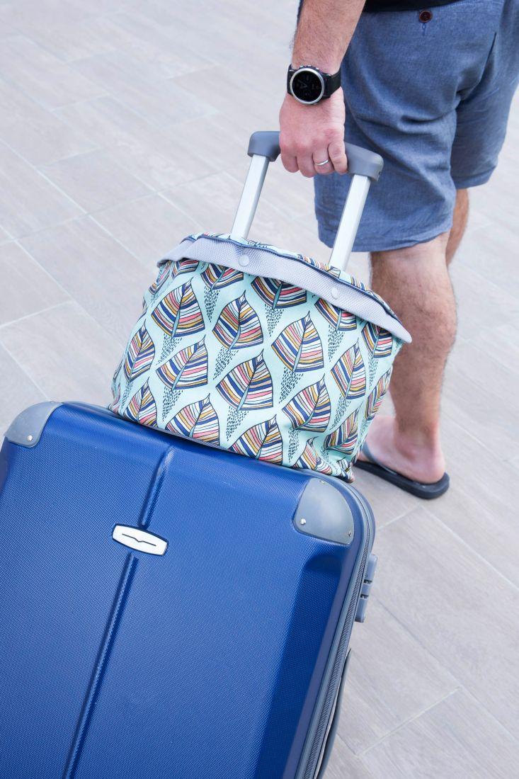 tuto couture sac à bagage